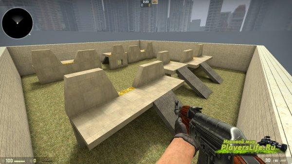 Карта aim_furiouz_go для CS:GO