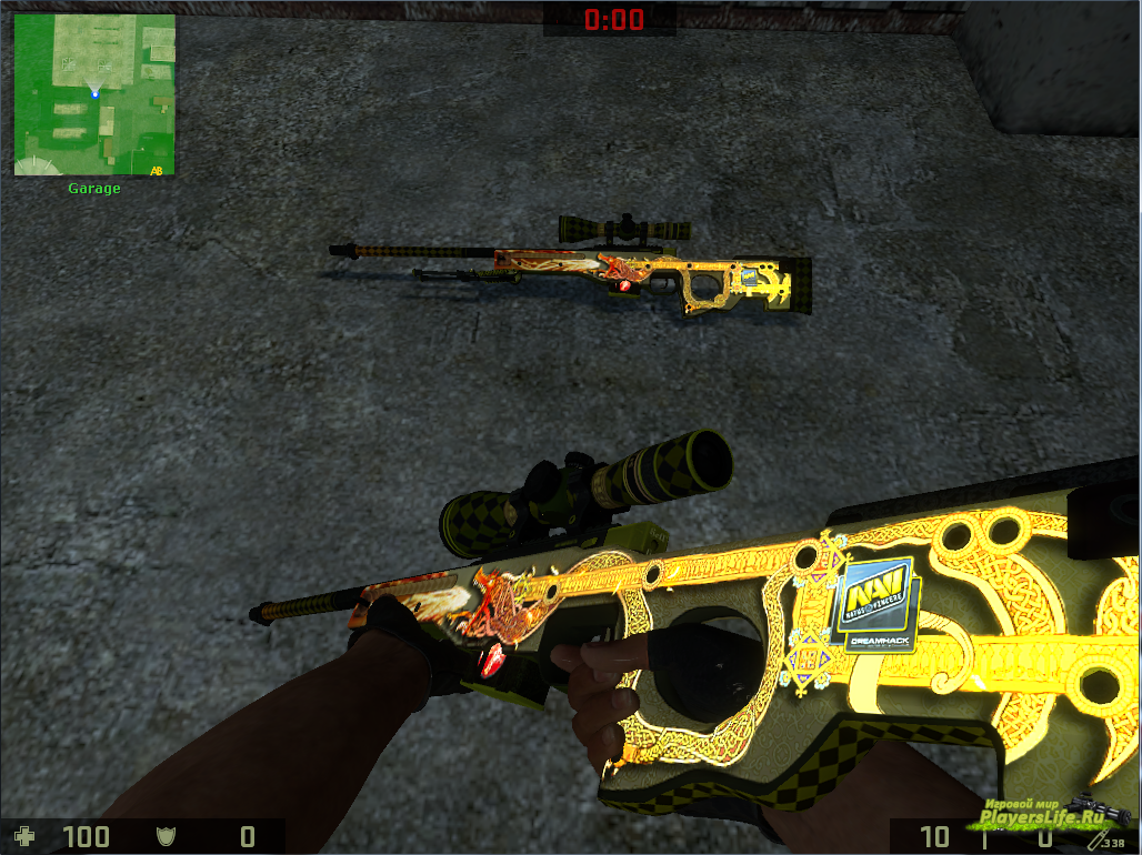 Скачать Awp Dragon Lore для Css V34
