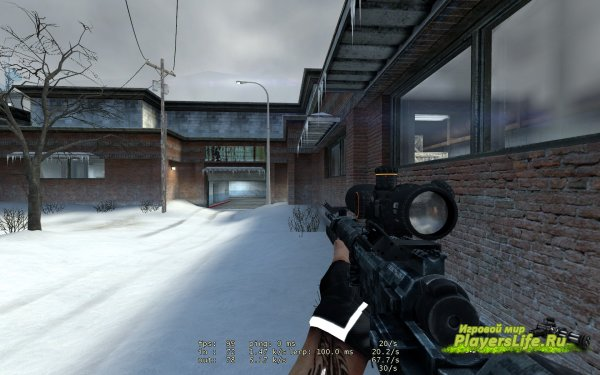 Модель SRR-61 для Counter-Strike: Source