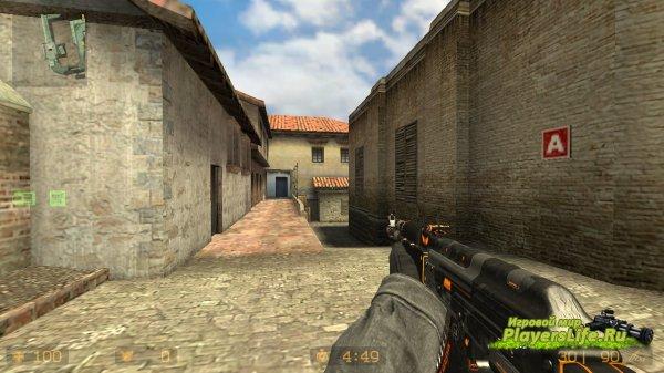AK-47 Элитное Снаряжение из CS:GO для CS:S