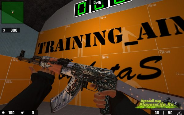 AK-47 polar для Counter-Strike: Source