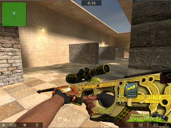 Awp | Dragon Lore 3D Light By MRX-161.CReW