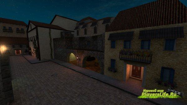 Карта ze_Sorrento_Night_v3 для Counter-Strike:Source