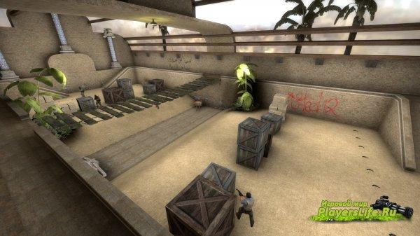 Карта aim_revolver_quep_v1 для CS:GO