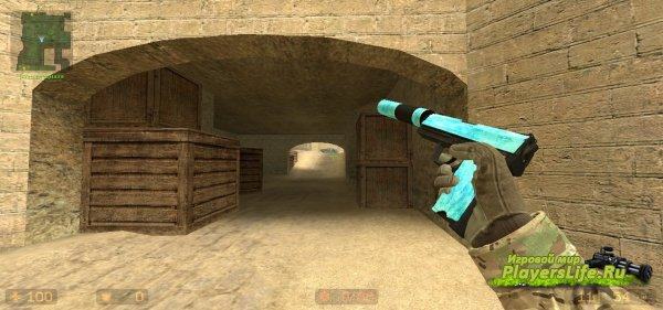 USP-S Ледяной для Counter-Strike: Source