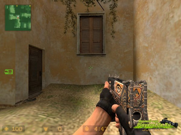Mac 10 Краски из CS:GO для CS:S