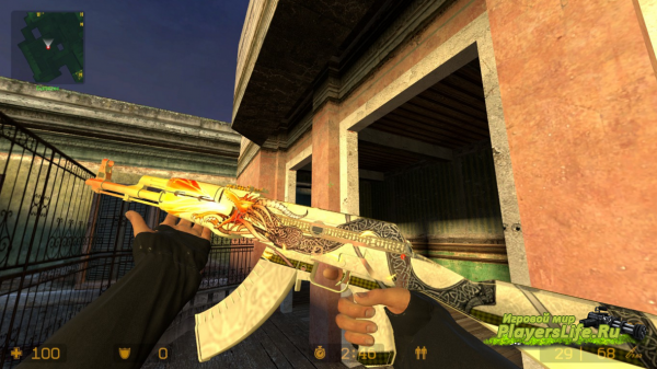 AK-47 Dragon Lore для Counter-Strike: Source