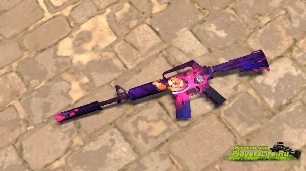 M4A1-S SHAGGY ATACK (COUNTER-STRIKE: SOURCE)