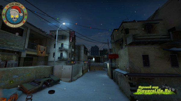 Карта de_dust2_winter (NIGHT) для CS:GO