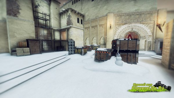 Карта de_mirage_winter для CS:GO