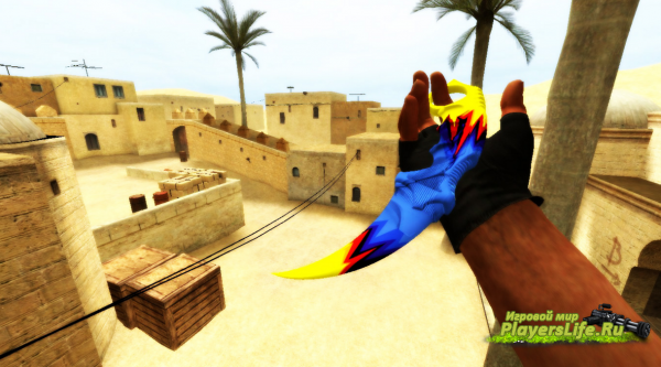 Нож Karambit Discontinuity (Counter-Strike:Source)