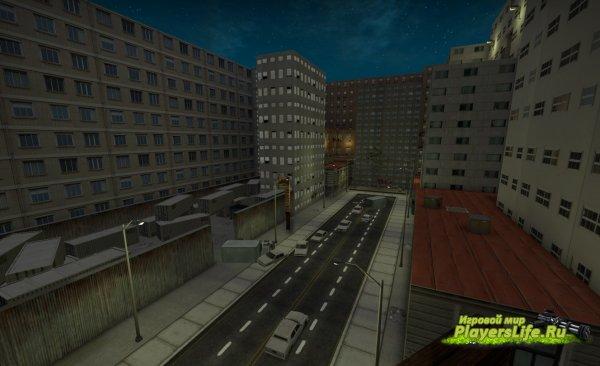 Карта bhop_sina_csgo для CS:GO
