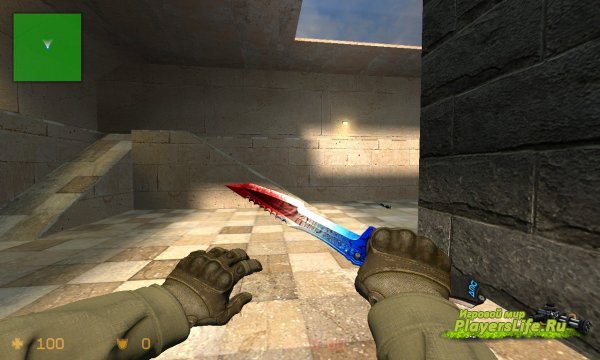 Huntsman knife Blood In Water для CS:S
