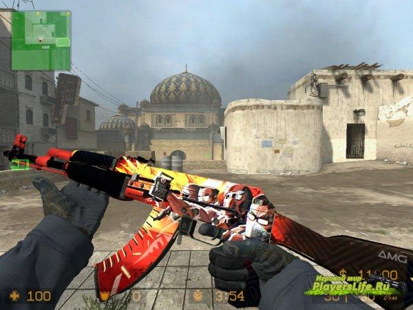 AK47 Пропаганда из CS:GO для CS:S