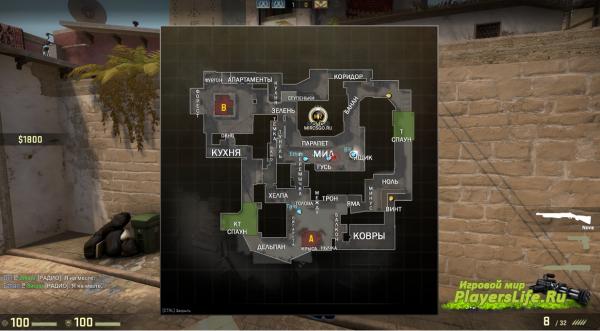 Как в кс го сделать карту