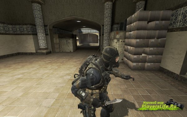 Нож из Call of Duty: Black Ops 2 для CS:S