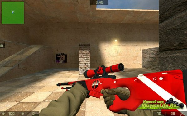 AWP Deadpool (Counter-Strike:Source)