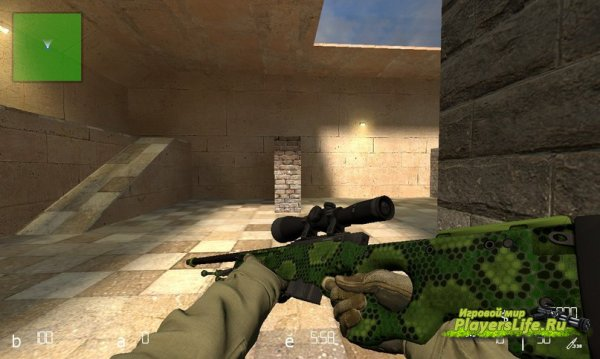 AWP Гадюка для CSS (Counter-Strike:Source)