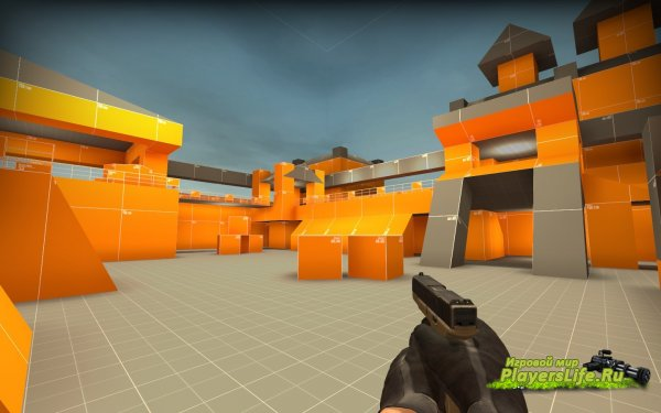 Карта aim_ag_texture2 для CS:GO