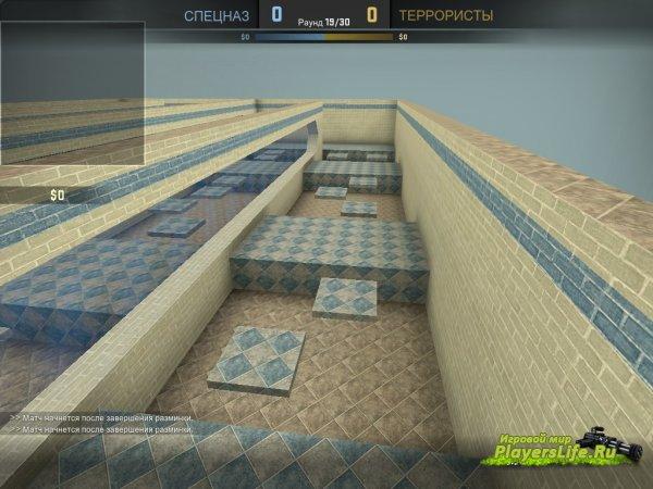Карта bhop_eazy_csgo для CS:GO