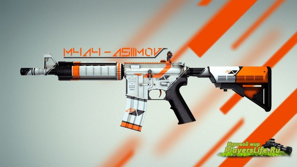 [CS:GO]M4A4 Pack для CSS (Counter-Strike:Source)
