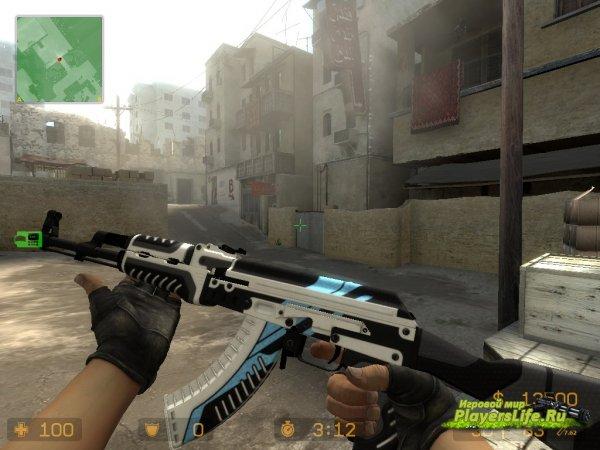 AK-47 Вулкан (перчатки террористов) для CSS