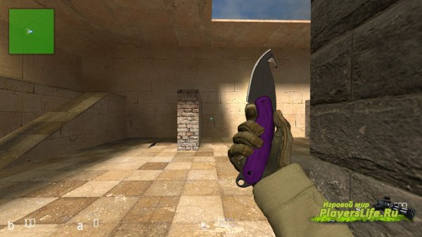 Gut Knife Pack (CS:GO) для CS:S