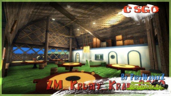 Карта Zm_Krusty_Krab_a3_csgo для CS:GO