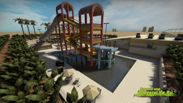 ����� ��������(ttt_waterpark_v3) ��� CS:GO