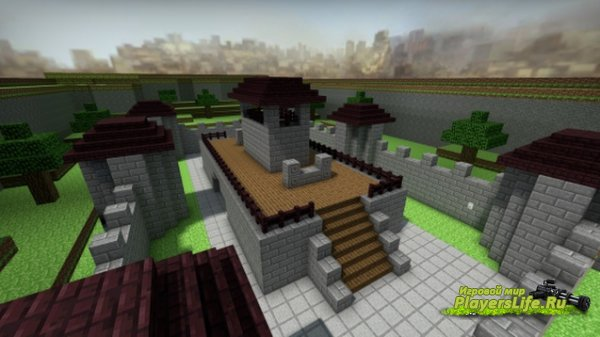 Карта майнкрафт (AWP Minecraft) для CS:GO
