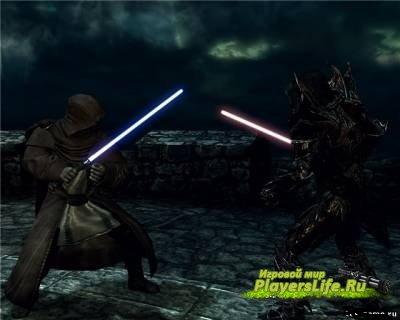 Световые мечи из звездных войн для скайрима