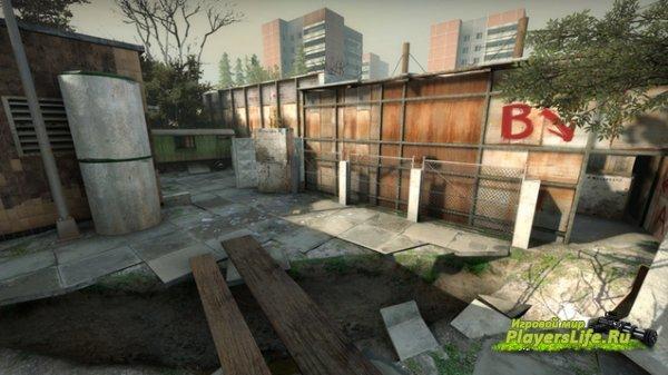Карта de_pripyat для CS:GO
