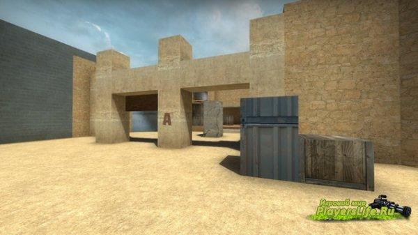 Карта de_construct для CS:GO