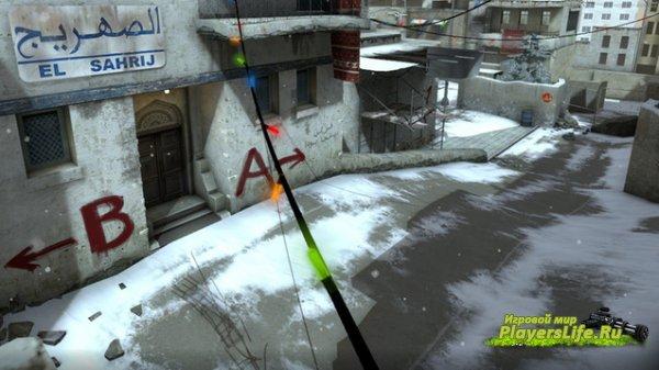 Карта DUST2 ЗИМА для CS:GO