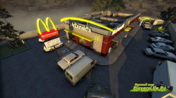 Карта МакДональдс для CS:GO