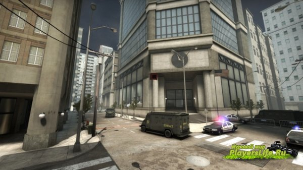 Карта Downtown [Compatibility Version 1.35.5.3] для CS:GO