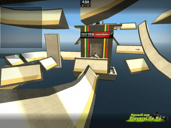 Карта surf_ski_2 для CS:GO