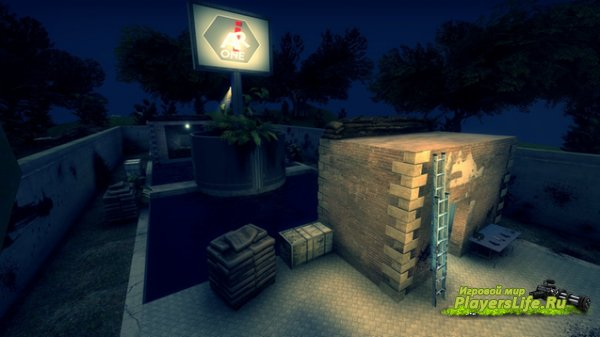 Карта Зомбилэнд для CS:GO