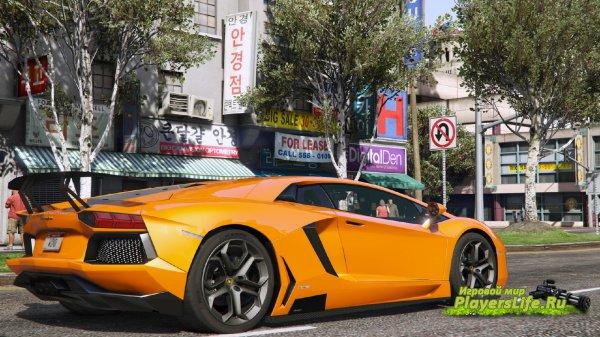 Машина Lamborghini Aventador LP700-4 для GTA 5