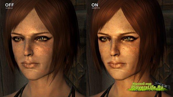Шейдеры SweetFX (изменение картинки) для Skyrim