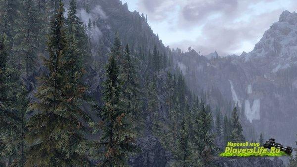 Tall trees (высокие деревья) для Скайрим