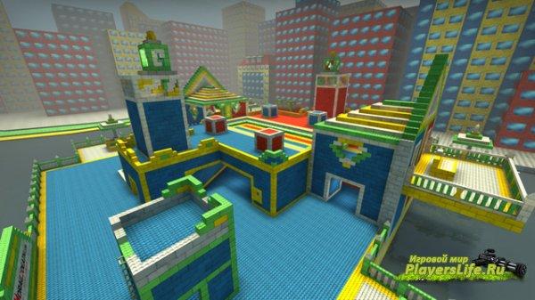 Карта awp_lego_2016 для CS:GO