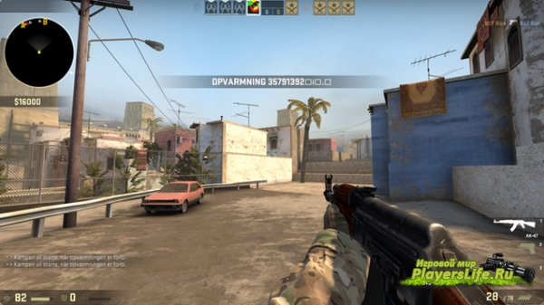 ����� Mirage parkour ��� CS:GO