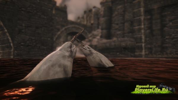 Морские чудовища – море призраков для Скайрим
