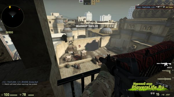 ����� de_dust 2 parkour ��� CS:GO