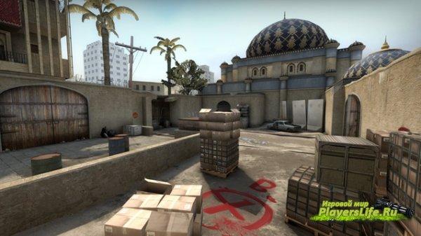 Отраженная версия de_dust2 для CS:GO