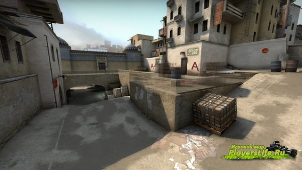 Wallhack Dust 2 (карта) для CS:GO