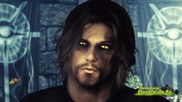 Страшные глаза из ведьмака для скайрим
