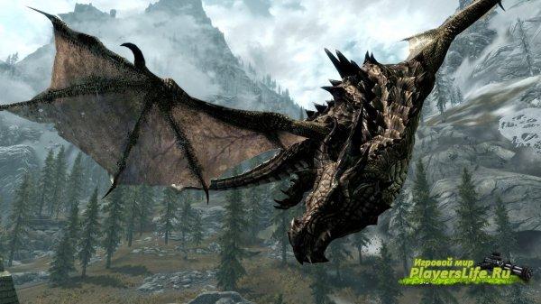 Улучшение звуков дракона для скайрима