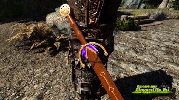 Кристальный меч Кларион для скайрим